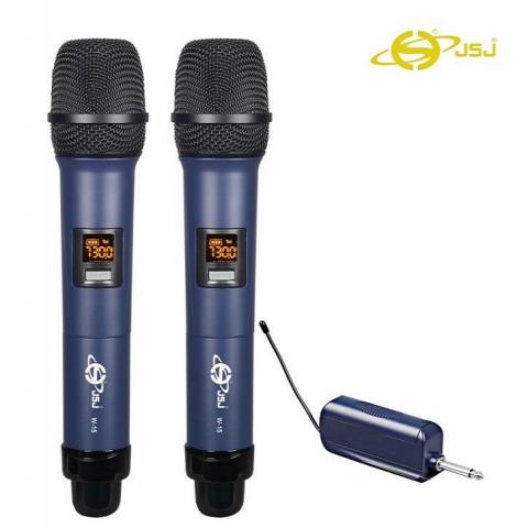 Micro Karaoke Không Dây Cho Loa Kéo JSJ  W-15