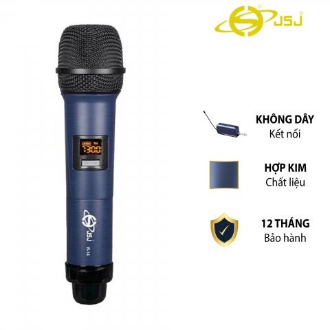 Micro Karaoke Không Dây Cho Loa Kéo JSJ  W-14