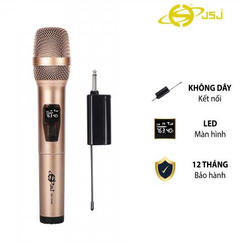 Mẫu Mới Micro karaoke không dây cao cấp JSJ-W121